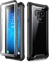 i-Blason Ares Designed for Galaxy Note 9 Case, Full-Body Rugged Clear Bumper Case with Built-in Screen Protector for Galaxy Note 9 2018 Release, Black
