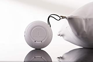 Sonic Bomb Wireless Vibration Alarm SS125BT - Portable Vibrating Bed Shaker Alarm for Heavy Sleepers, Hearing Loss and Those That Need to be Notified on The Go or Anytime.