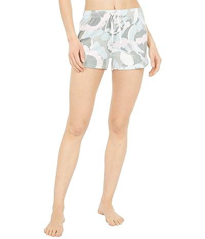 P.J. Salvage Camo Bloom Shorts (Multi) Women