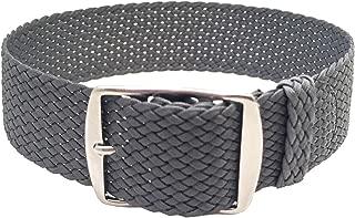 grey perlon strap