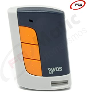 Mando garaje original VDS ECO-R 433 MHz. 5 canales y código evolutivo. Valido para todos los automatismos de la marca VDS