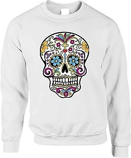 Day of The Dead Jumper Mexican Sugar Skull Sweatshirt Sweater