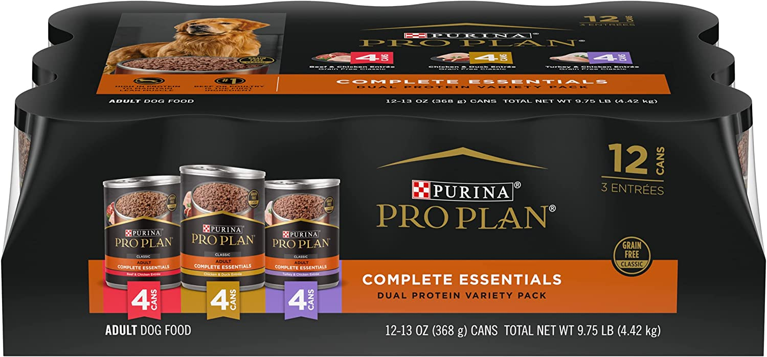 Purina Pro Plan Grain Free Adult Canned Wet Dog Food - (12) 13 oz. Cans (Packaging May Vary)