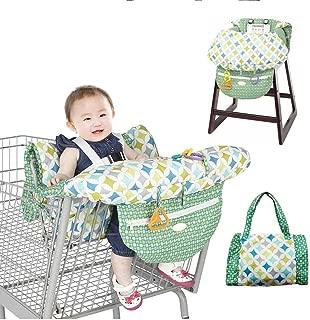 ZXYWW Baby Kids Carrito De Compras Cojín 2 En 1 High Chair Cover para Boy Girl Trolley Pad Plegable para Llevar Bag - 100% Protección contra Gérmenes