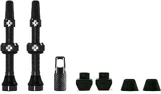 Válvulas Presta sin cámara Muc-Off de Color Negro, 44 mm �