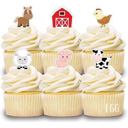 On the Farm Cupcake Kit Farm Birthday Party