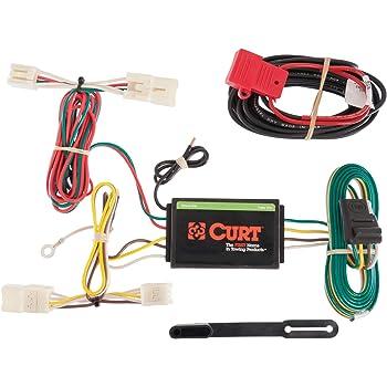 Amazon.com: CURT 56165 Vehicle-Side Custom 4-Pin Trailer Wiring Harness for  Select Toyota RAV4: Automotive