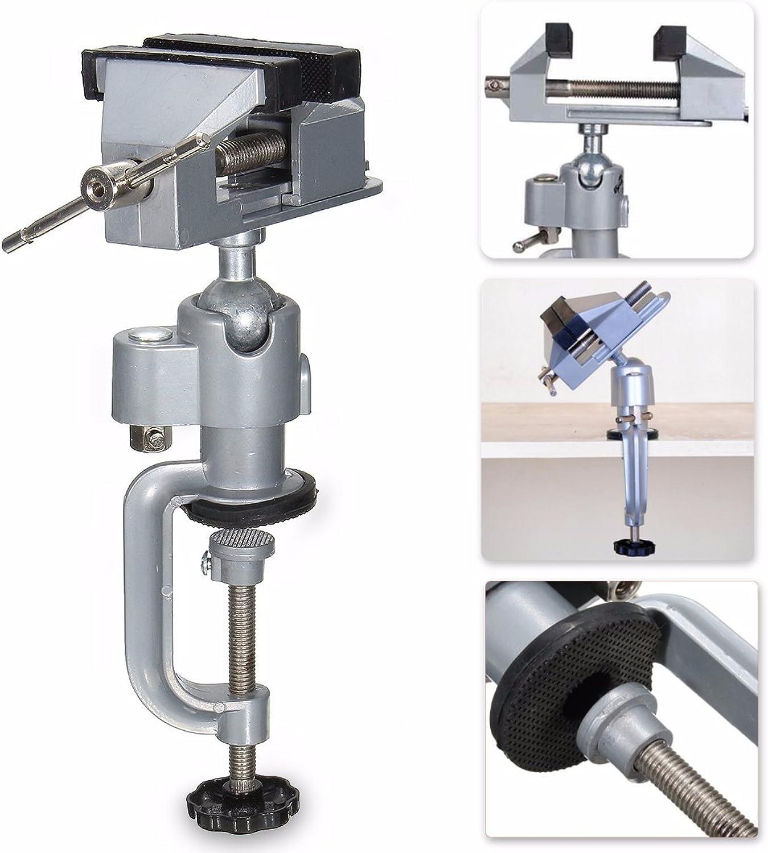 Werse Vise Workbench Swivel 360 ° Drehklemme Tischplatte Deluxe Craft Repair DIY Tool B07HKCY48R | Internationale Wahl