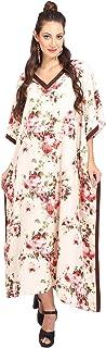 Miss Lavish London Women Kaftan Tunic Kimono Style Plus Size Maxi for Loungewear Holidays Nightwear & Everyday Dresses #11...