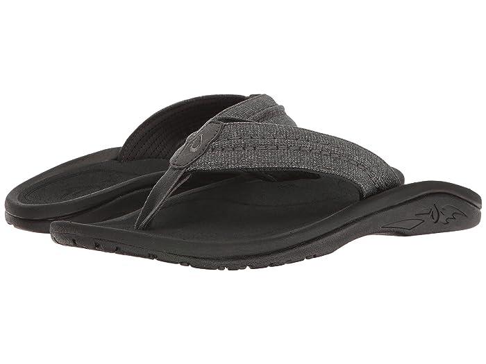 Hokua Mesh  Shoes (Dark Shadow) Men's Sandals