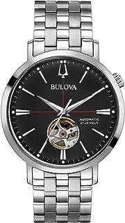 Bulova - Reloj automtico de Acero Inoxidable el Quad. Negro 96A199