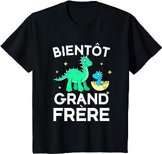 Enfant Bientôt Grand frère T-Shirt