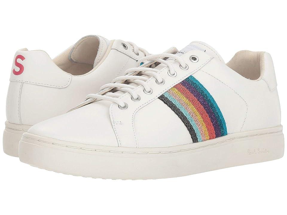 Paul Smith Lapin Artist Stripe Sneaker (White) Women