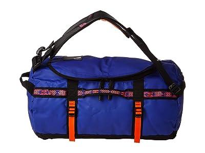 The North Face Base Camp Duffel Small (Aztec Blue/TNF Black) Duffel Bags
