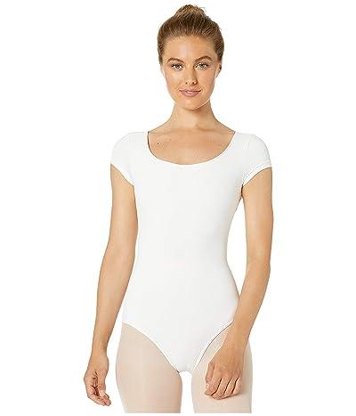 Bloch Cap Sleeve Leotard (White) Women