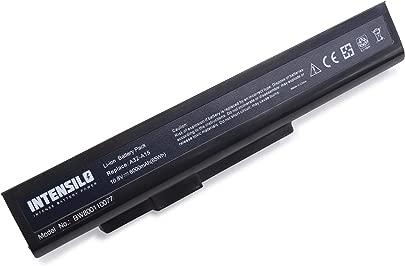 INTENSILO Li-Ion Akku 6000mAh  10 8V  f r Notebook Laptop Medion Erazer X6815  X6816 wie A32-A15  A41-A15  A42-A15  A42-H36