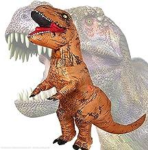 JASHKE Ropa Inflable de tiranosaurio Disfraz de Fiesta de