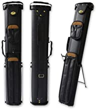 2x4 Hard Pool Cue Case 2B4S Billiard Stick Carrying Cue Case with Stand