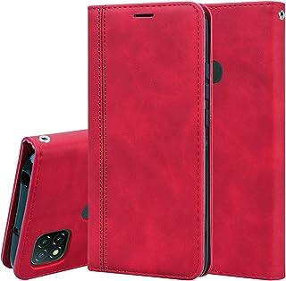 電話ケース Xiaomi Redmi 9Cの艶消しビジネス磁気横のフリップPUレザーケースホルダー&カードスロット&ストラップ