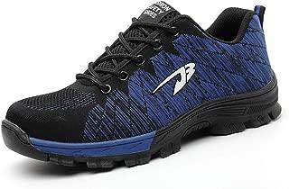 2019 Women Work Men Steel Safety Boots, Shock Resistant Sole for Men Plus Size Shoes
