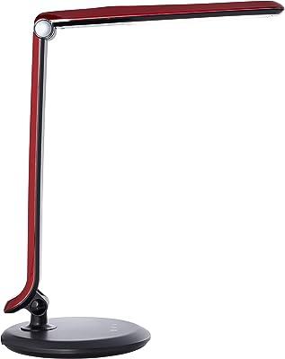 Brilliant Vanita Lampe de table LED avec variateur tactile 60 cm orientable Rouge 4600 K Blanc froid 530 lm LED intégrée