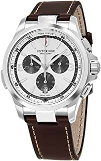Victorinox Night Vision Quartz Movement Silver Dial Men's Watch 241729