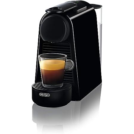 De' Longhi En85.B Macchine per Il caffè a Sistema Nespresso Essenza, 1370 W, 0.6 milliliters, Plastica, Nero