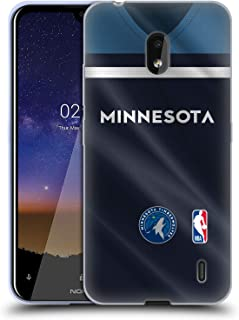 Official NBA Road Jersey 2018/19 Minnesota Timberwolves Soft Gel Case Compatible for Nokia 2.2