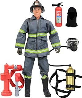 """Click N` Play CNP30640 Urban Firefighting 12"""""""" Action Figure Play Set with Accessories, 12 inches"""
