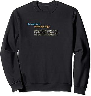 Programador Debugging Desarrollador Geek Coder Computer Sudadera