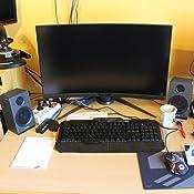Gigabyte Aorus Cv27f 68 5 Cm Full Hd Gaming Monitor 1 Computers Accessories