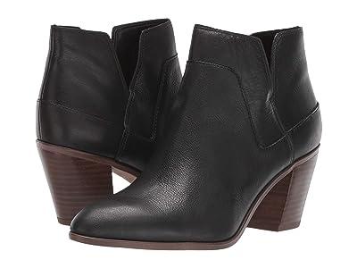Franco Sarto Odessa (Black Leather) Women