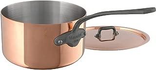 Mauviel M'Heritage M150C 6450.21 Copper Saucepan with Lid. 3.2L/3.1 quart 20cm/8