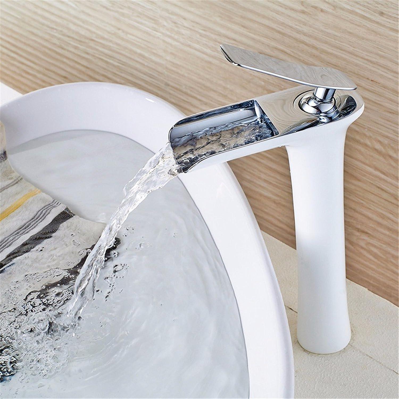 ETERNAL QUALITY Bad Waschbecken Wasserhahn Küche Waschbecken Wasserhahn Malen Sie Heien Und Kalten Kupferbassinoberseitenhahn Waschtischmischer BEG2553