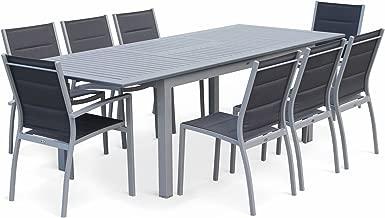 Amazon.fr : Table Jardin Aluminium Avec Rallonge : Cuisine ...