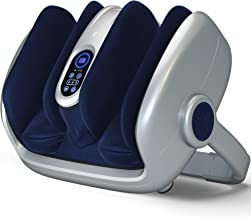 Miko Foot Massager Shiatsu Machine With Multi-Pressure Settings, Vibration, Deep-Kneading, Heat and Wireless Remote- Allev...