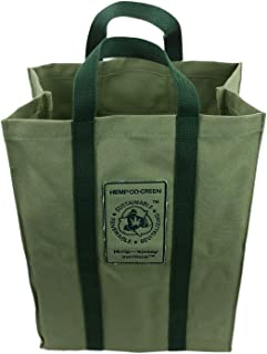 Hemp Go Green 100% Hemp Canvas Heavy Duty Reusable Shopping Bag