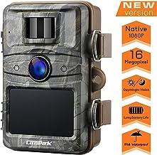 CANIS LATRANS Wildkamera 16MP 1080P Infrarot Nachtsicht bis zu 20 m 120/° Weitwinkelobjektiv 6,1 cm Farbdisplay Wasserdicht Indoor Outdoor /Überwachung