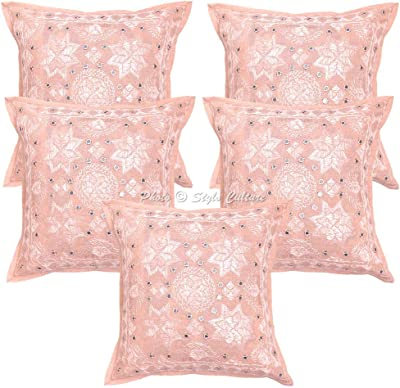 Amazon.com: Manta decorativa fundas de almohada 16 x 16 ...
