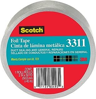 Scotch Foil Tape, 2-Inch by 50-Yard, 6 Pack