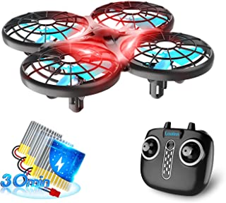 Loolinn   Drone for Kids - Indoor Mini Drone, RC Drones with Auto Anti-Collision Technology / 360° Flip / 30 Minutes Fligh...