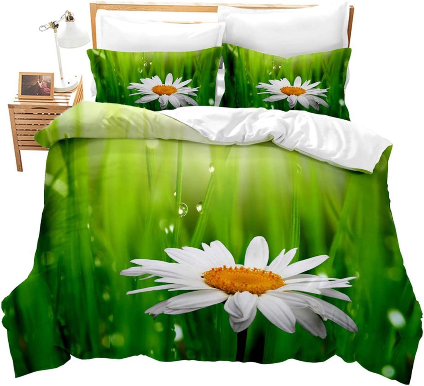 KORANGE Duvet Cover 3 Pieces Bedding Microfiber Pillowcas supreme Fashion 2 with