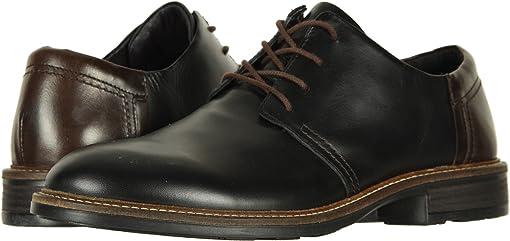 Black Raven Leather/Walnut Leather