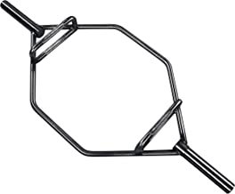 HulkFit Olympic 2-Inch Hex Weight Lifting Trap Bar, 1000-Pound Capacity