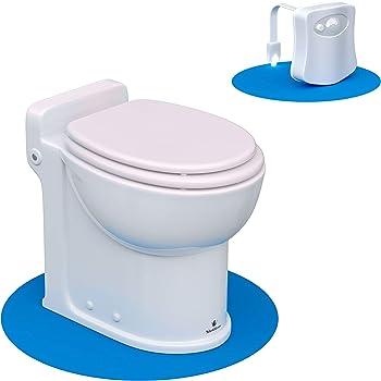 Silent Venus Round Plastic Upflush Toilet