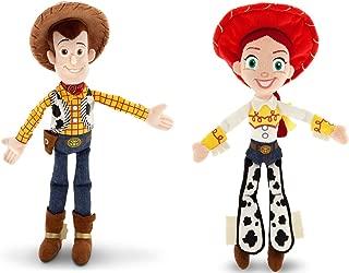 5Star-TD Disney Toy Story Woody and Jessie Doll Set