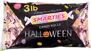 Halloween Bulk Trick or Treat Smarties Candy Rolls, 3 Pound Bag