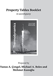 Property Tables Booklet for Thermodynamics: An Engineering Approach
