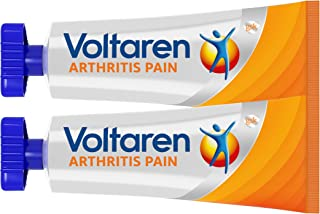 Voltaren Arthritis Pain Gel for Topical Arthritis Pain Relief - 3.5 oz/100 g Tubes (Pack of 2)