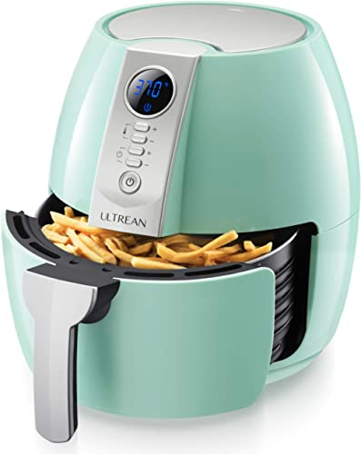 Ultrean Air Fryer, 4.2 Quart (4 Liter) Electric Hot Air Fryers Oven Oilless Cooker with LCD Digital Screen and Nonsti...